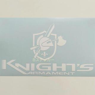 ❷ Knight's Armament ナイツ アーマメント ステッカー 白(その他)