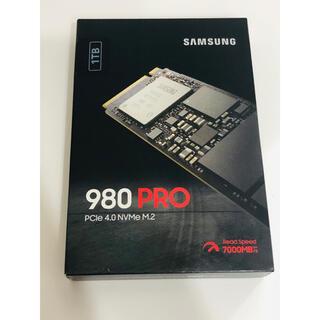SAMSUNG - Samsung 980 PRO 1TB ハードディスク HDD
