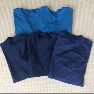 デサント(DESCENTE)の【美品】デサント 野球アンダーシャツ Tシャツ 150cm 5枚セット(ウェア)