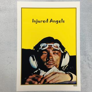 大型A3サイズ送料込ポップアート「Injured Angels」イエロー(アート/写真)