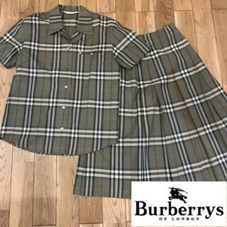 バーバリー(BURBERRY)のBurberrys バーバリーズ  90 ノバチェック スカート  セットアップ(ひざ丈ワンピース)