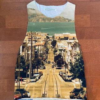 アッシュペーフランス(H.P.FRANCE)のバルセロナで購入。smooooth clothing 転写 タンクトップ(タンクトップ)