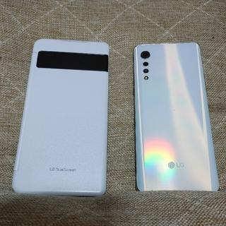 エルジーエレクトロニクス(LG Electronics)のLG Velvet + デュアルスクリーン(スマートフォン本体)