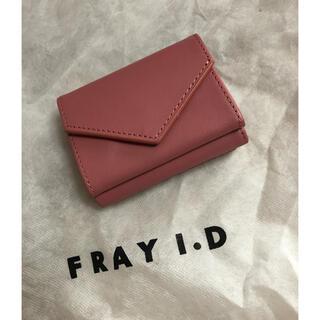 フレイアイディー(FRAY I.D)のタグ付き新品★FRAY I.Dミニウォレット(財布)