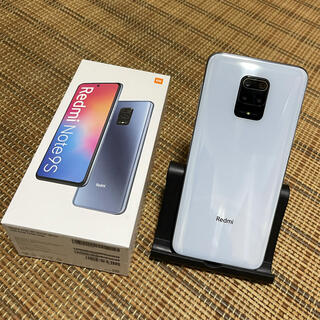 アンドロイド(ANDROID)のXiaomi Redmi Note9s ホワイト 4GB 64GB simフリー(スマートフォン本体)