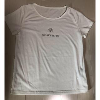 クレイサス(CLATHAS)のクレイサス 半袖 Tシャツ Mサイズ ホワイト(Tシャツ/カットソー(半袖/袖なし))