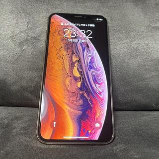 アイフォーン(iPhone)の美品★iPhone xs 64GB simフリー★(スマートフォン本体)