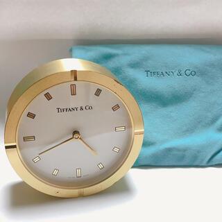 ティファニー(Tiffany & Co.)のティファニー 置時計 インテリア レアアイテム!(置時計)