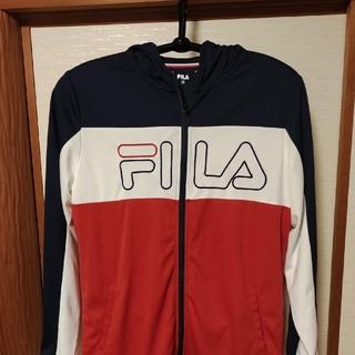 フィラ(FILA)のFILA フィラビッグロゴ パーカー XL(パーカー)
