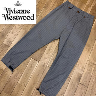 Vivienne Westwood - ヴィヴィアンウエストウッド マン チェック スラックス パンツ