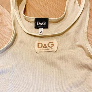 ドルチェアンドガッバーナ(DOLCE&GABBANA)の【D&G】タンクトップ(タンクトップ)