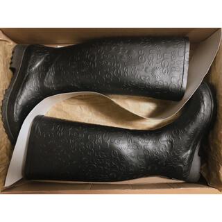 アグ(UGG)の★ UGG レインブーツ ブラック 24㎝(レインブーツ/長靴)