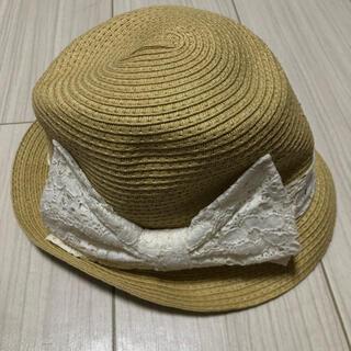 ジーユー(GU)のGU ジーユー 麦わら帽子 キッズ(帽子)