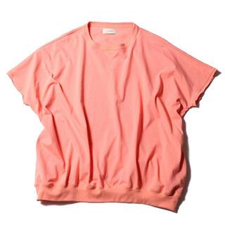 ジエダ(Jieda)のJieDa BIG CREW S/S PINK ONE SIZE(Tシャツ/カットソー(半袖/袖なし))