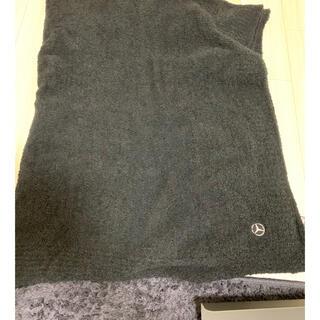 カシウエア(kashwere)の新品、未使用カシウエア、ベンツコラボブランケット(毛布)