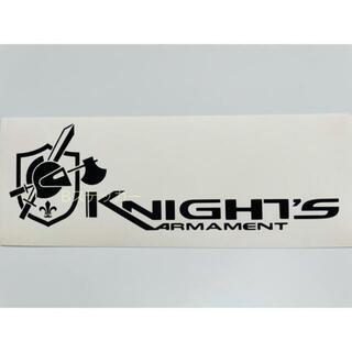 ❻ Knight's Armament ナイツ アーマメント ステッカー 黒(その他)