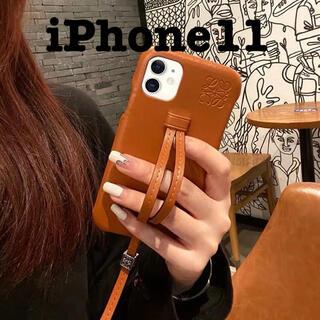 iPhone11ケース ストラップ(iPhoneケース)