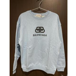 Balenciaga - BALENCIAGA トレーナー 水色