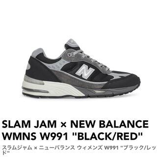 ニューバランス(New Balance)のSLAM JAM × NEW BALANCE WMNS W991 25cm(スニーカー)
