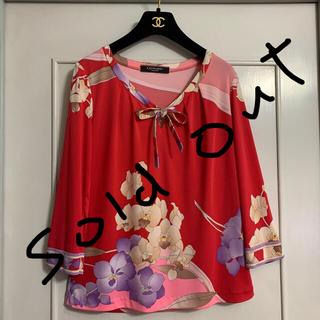 LEONARD - レオナール ☆カットソー7分袖☆サイズ3☆綺麗美品