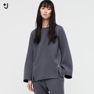 ユニクロ(UNIQLO)のユニクロ ジルサンダー +J ドライスウェットクルーネックシャツ Sサイズ(トレーナー/スウェット)
