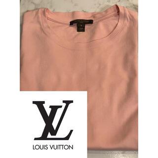 ルイヴィトン(LOUIS VUITTON)のLouis Vuitton ピンク Tシャツ Sサイズ (Tシャツ(半袖/袖なし))