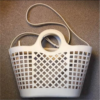 アパルトモンドゥーズィエムクラス(L'Appartement DEUXIEME CLASSE)のHEREU Leather Mesh Bag ヘリュー アパルトモン バッグ(かごバッグ/ストローバッグ)