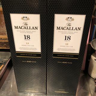 サントリー(サントリー)のマッカラン18 年 2本セット 2020(ウイスキー)
