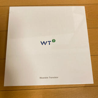 イヤホン型リアルタイムウェアラブル翻訳機  WT2PLUS(旅行用品)