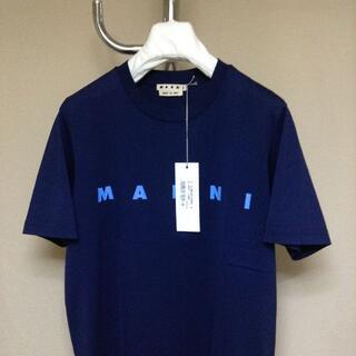マルニ(Marni)の新品 48 20aw MARNI ロゴTシャツ 9897(Tシャツ/カットソー(半袖/袖なし))