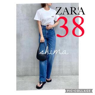 ザラ(ZARA)のZARA ZW THE '90S FULL-LENGTH JEANS デニム(デニム/ジーンズ)