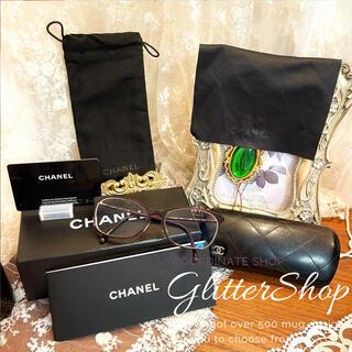シャネル(CHANEL)のCHANEL メガネ 眼鏡 ココマーク 眼鏡ケース ポーチ(サングラス/メガネ)