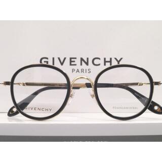 GIVENCHY - 店頭展示品◆GIVENCHY ジバンシィ ラウンドフォルム 眼鏡 丸 メガネ 黒