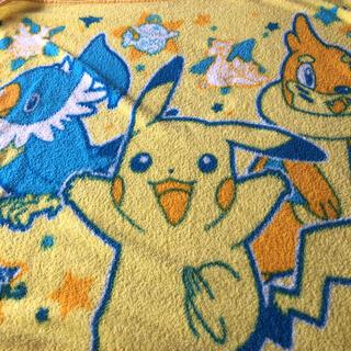 ポケモン(ポケモン)のポケモン ピカチュウ ブランケット毛布 お昼寝に(毛布)