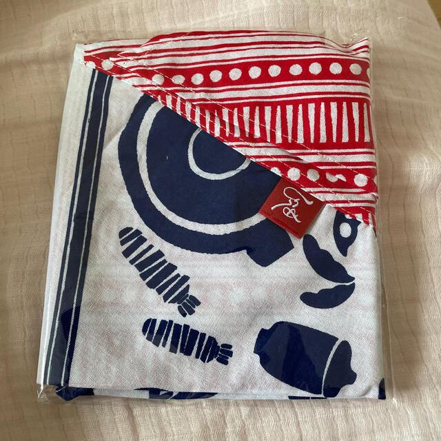 KALDI(カルディ)のもへじ 手ぬぐいエコバッグ レディースのバッグ(エコバッグ)の商品写真