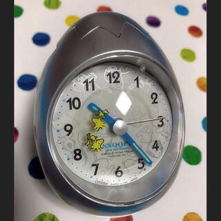 CITIZEN - シチズン製 スヌーピー起き上がりこぼしの目覚まし時計