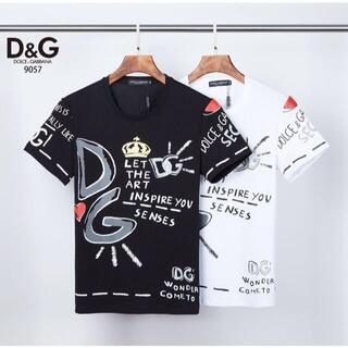 ドルチェアンドガッバーナ(DOLCE&GABBANA)の2枚10000 DOLCE&GABBANA Tシャツ 半袖76(Tシャツ(半袖/袖なし))
