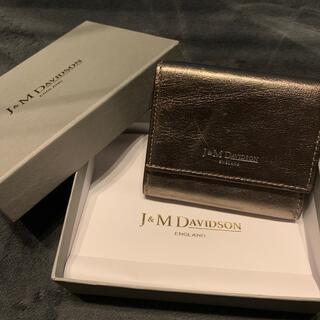 ジェイアンドエムデヴィッドソン(J&M DAVIDSON)のJ&M DAVIDSON  TWO FOLD WALLET(財布)