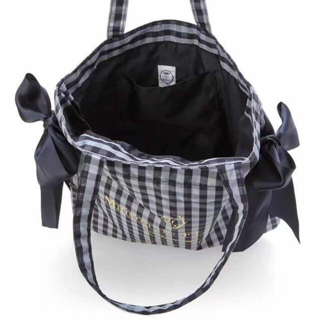 Maison de FLEUR(メゾンドフルール)のクロミ リボントートバッグ クロミ Maison de FLEUR リボン レディースのバッグ(トートバッグ)の商品写真