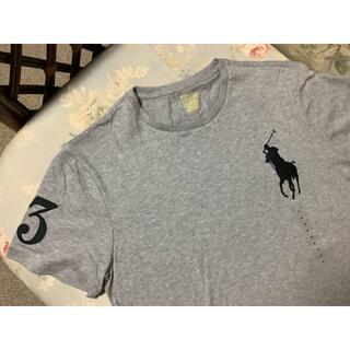 ラルフローレン(Ralph Lauren)の新品☆ラルフローレン Tシャツ ビッグポニー グレー  US L(Tシャツ/カットソー(半袖/袖なし))
