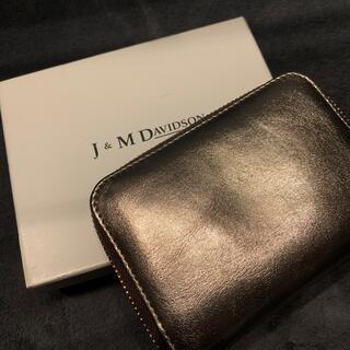 ジェイアンドエムデヴィッドソン(J&M DAVIDSON)のJ&M DAVIDSON  SMALL ZIP PURSE (財布)