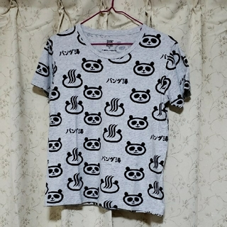 Design Tshirts Store graniph - graniph ツペラツペラTシャツB/ツペラツペラ(パンダ銭湯パターン)