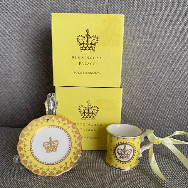 Harrods(ハロッズ)の英国王室 オーナメント2個セット インテリア/住まい/日用品のインテリア小物(その他)の商品写真
