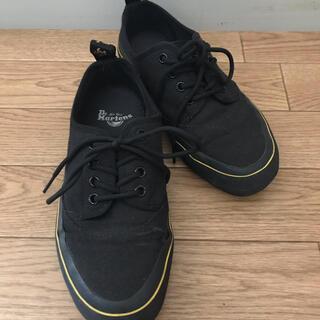 ドクターマーチン(Dr.Martens)のドクターマーチン黒スニーカー☆靴(スニーカー)