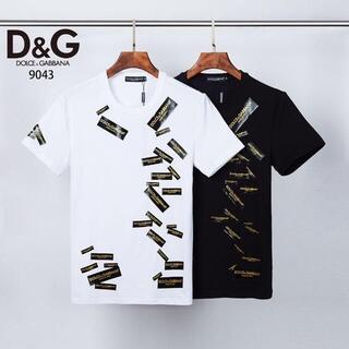 ドルチェアンドガッバーナ(DOLCE&GABBANA)の2枚10000 DOLCE&GABBANA Tシャツ 半袖37(Tシャツ(半袖/袖なし))
