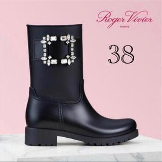 ROGER VIVIER - ROGER VIVIER♡Buckle Rain Boots♡テンペットヴィヴィ