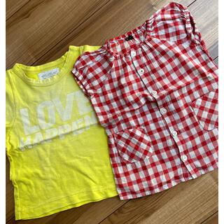 ゴートゥーハリウッド(GO TO HOLLYWOOD)のGO TO HOLLYWOOD FITH 2枚セット 100㎝(Tシャツ/カットソー)
