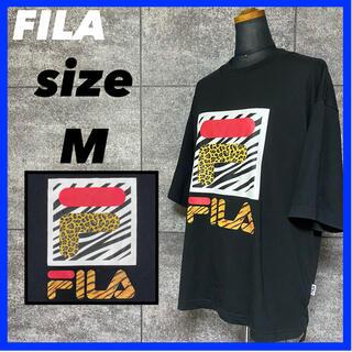 フィラ(FILA)のFILA フィラ 半袖 Tシャツ メンズ サイズM オーバーサイズ ゆるダボ(Tシャツ/カットソー(半袖/袖なし))