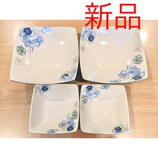 カンサイヤマモト(Kansai Yamamoto)の新品 山本寛斎 スクエア 大皿2枚 中皿2枚 計4枚セット(食器)