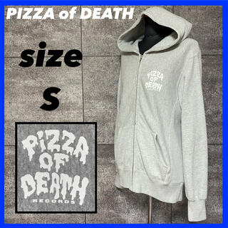 【入手困難】PIZZA of DEATH ピザオブデス パーカー サイズS (パーカー)